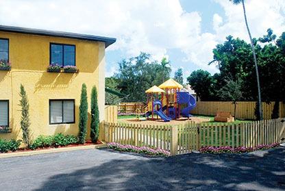 Montessori playground