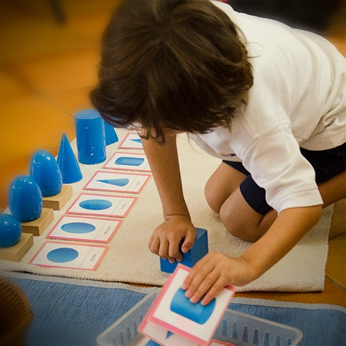 Montessori preschool for elementary children