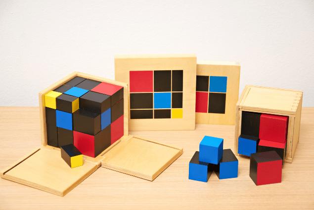 Montessori math lessons